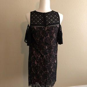 LOFT Dresses - Loft Cold Shoulder Dress